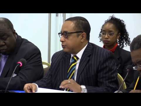 Honourable Damien Gomez ~ Bahamas Government's Response at IACHR