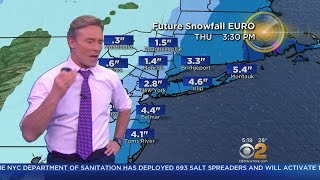 Blizzard Forecast Predicts Heavy Snowfall On Tri-State