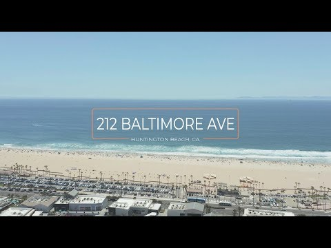212 Baltimore Avenue In Huntington Beach, California