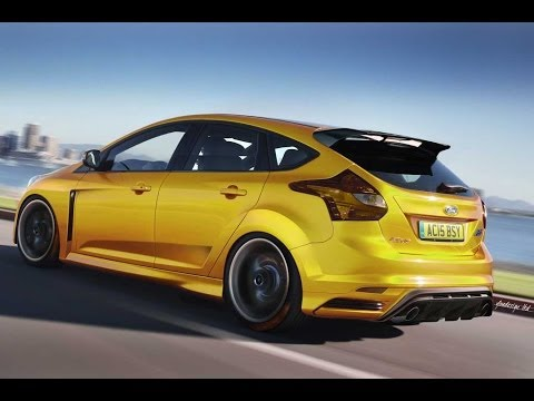 2015 ford focus st test drive top speed interior and exterior car review