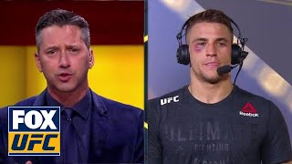 Dustin Poirier relives second round vs Anthony Pettis   INTERVIEW   UFC FIGHT NIGHT