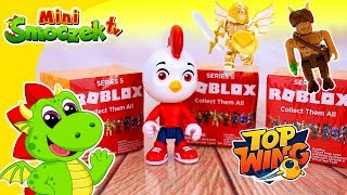ROBLOX-Rod der TOP WING Bird Academy eröffnet Spielzeug-Überraschungen! Märchen für Kinder auf Polnisch