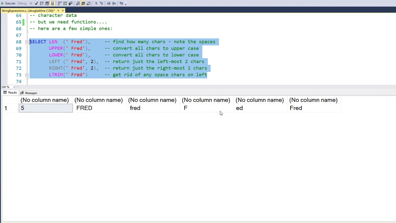 Simple Recursion in SQL with Common Table Expressions