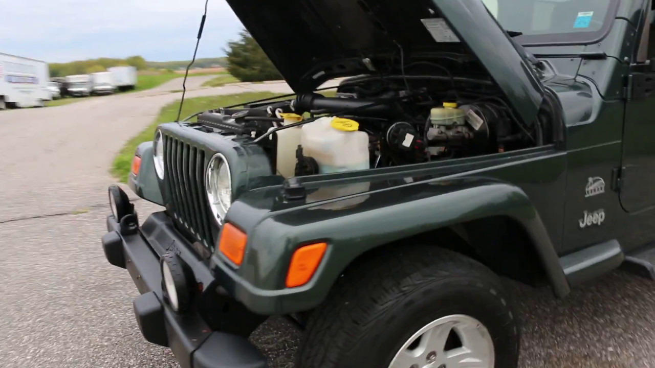 2004 Jeep Wrangler Sahara For Sale~100 % Stock~1 Owner~Hard Top~5 Speed  Manual
