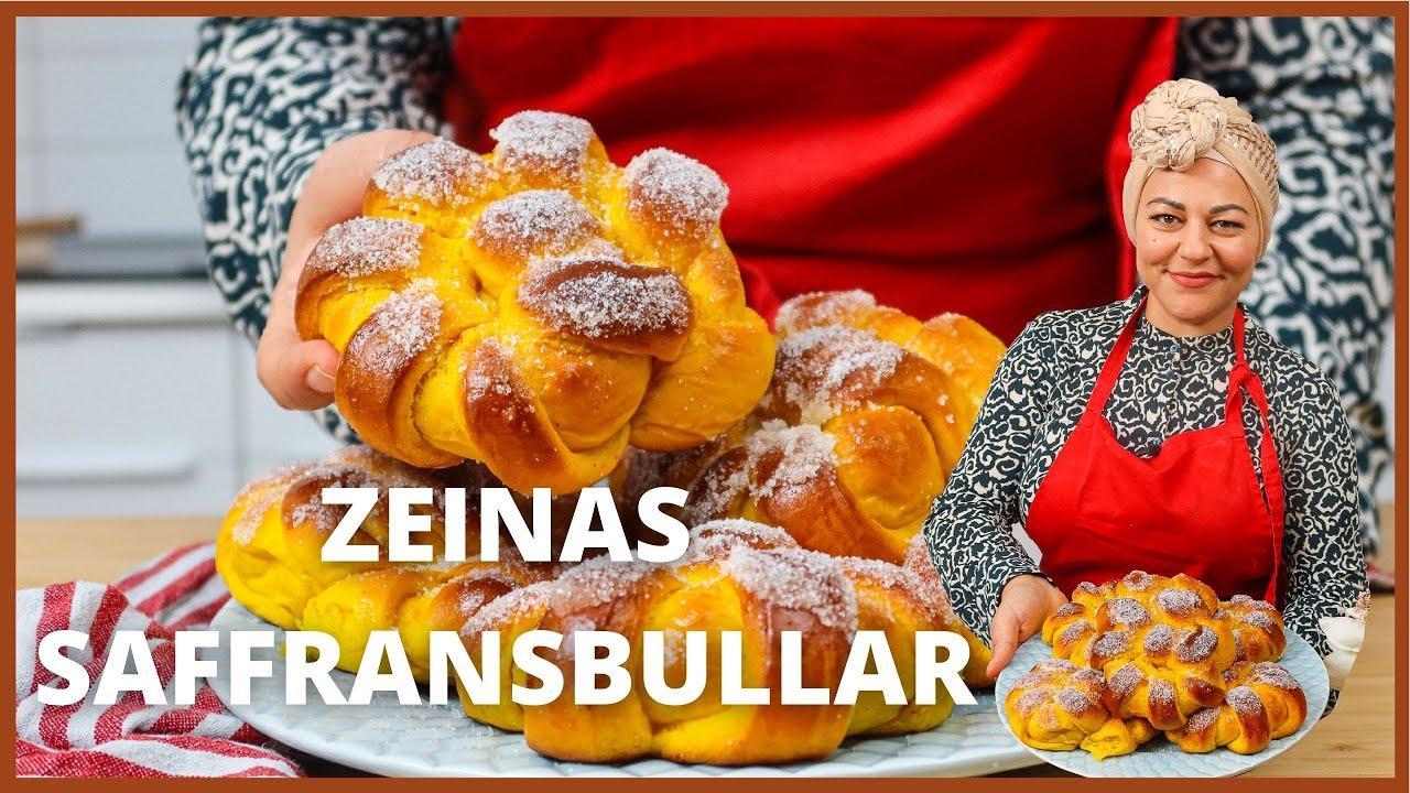 Download Saffransbullar och vaniljkräm med Zeina Mourtada
