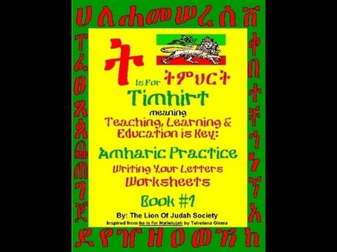 """Learn Amharic Personal Pronouns (Using Verbs) """"To Have"""" expls."""