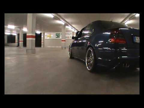 "Mercedes W202 on 19"" rims - YouTube"