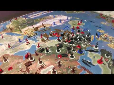Axis & Allies Global 1940/Japan Strategy
