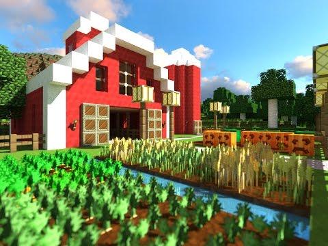 (Minecraft Guide) Simple Farm (1.10) (2016) - YouTube