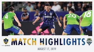 HIGHLIGHTS: LA Galaxy vs. Seattle Sounders FC | August 17, 2019
