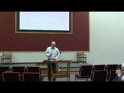 ·Wednesday Bible Study · 2019113 · Pastor Pittman · VBC Livestream