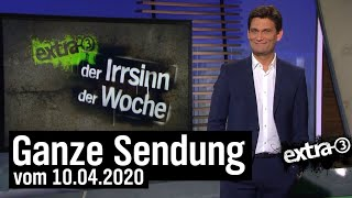 Extra 3 vom 10.04.2020 mit Christian Ehring