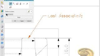 Gambar cover lost associativity in NX12