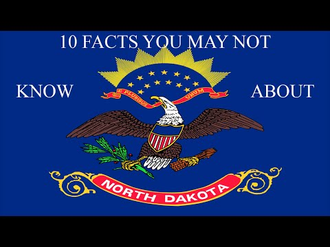 North Dakota - 10 Facts You Not Know
