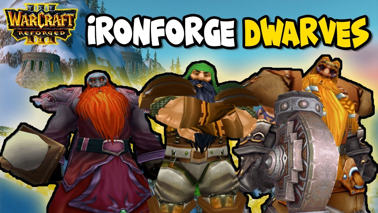 Azeroth Wars Legacy Reborn: Ironforge Dwarves (First Time) | Warcraft 3 Reforged | w/ Zooms