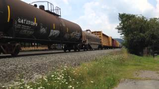 wb norfolk southern mixed freight 15k 72615