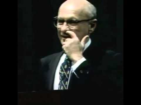 Milton Friedman - The Great depression myth (Ελληνικοί υπότιτλοι)