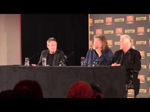 Led Zeppelin: Celebration Day Press Conference (London 9/21/12)