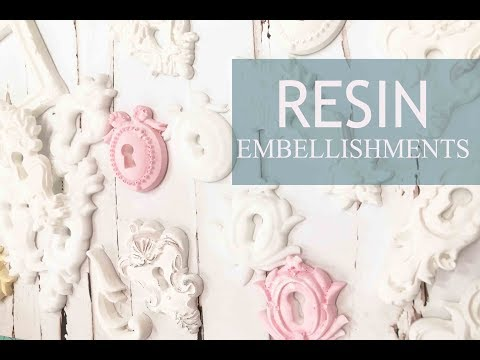 How to make Resin Embellishments  DIY Adornos de Resina / Tutorial  / iralamija