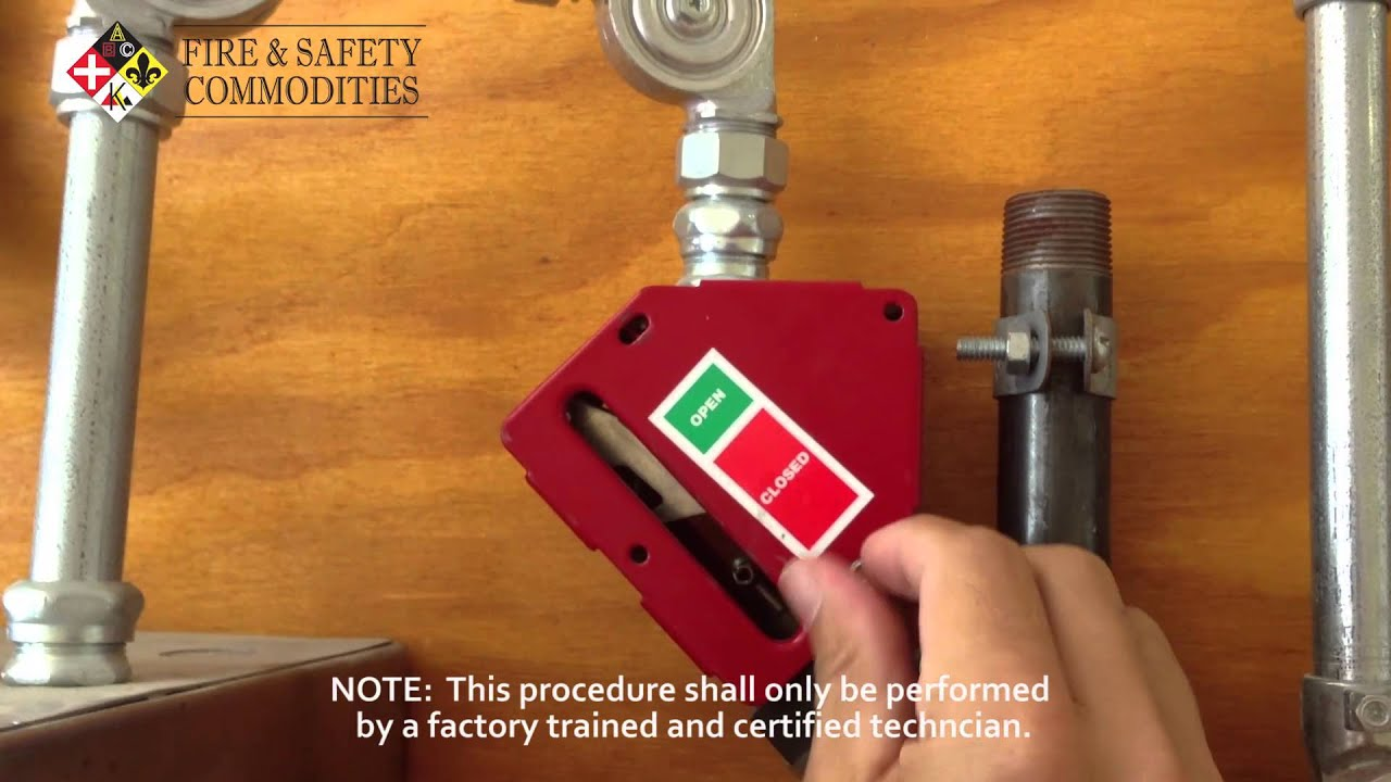 hight resolution of how to reset an ansul gas valve