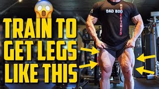 How I Train to Get BIG AND VEINY Legs!