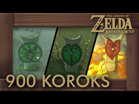 Zelda Breath of the Wild - All 900 Korok Seed Locations