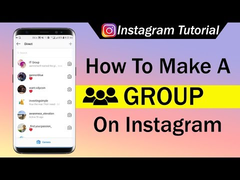 How To Make A Group On Instagram
