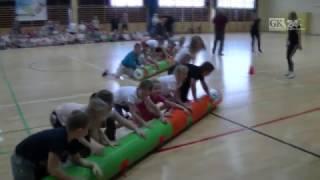 Lekcja sportu z Małgorzatą Hołub w Polanowie