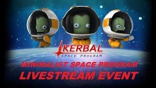 Kerbal Space Program Live Stream - KSP 1.0 Space Shuttle Tutorial
