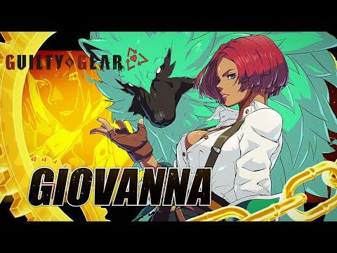 Guilty Gear -Strive- - Giovanna Character Trailer
