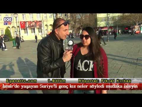 1.Bölüm   İzmir'de yaşayan Suriye'li genç kız neler söyledi mutlaka izleyin