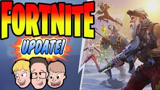 14 Days of Fortnite LIVE Winter Update Season 7 Theme Battle Pass Event Update 2018