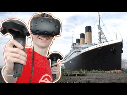 TITANIC SIMULATOR IN VIRTUAL REALITY! | Titanic: Honor and Glory VR Demo 3 (HTC Vive Gameplay)