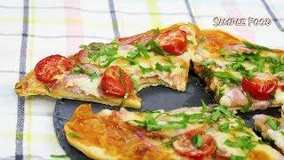 Не сдерживайте себя, готовьте сегодня !!! ТРИ рецепта ПИЦЦЫ / Вкусная Пицца за 15 минут