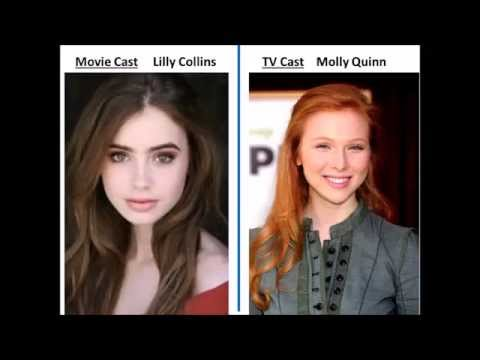 The mortal instruments shadowhunters My Tv Show Cast versus Movie cast