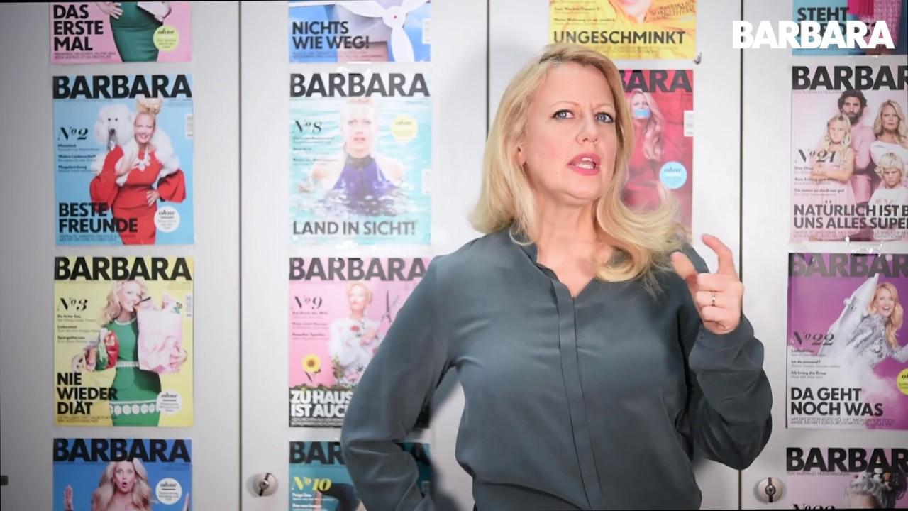 Barbara Schöneberger im Mutterglück - YouTube