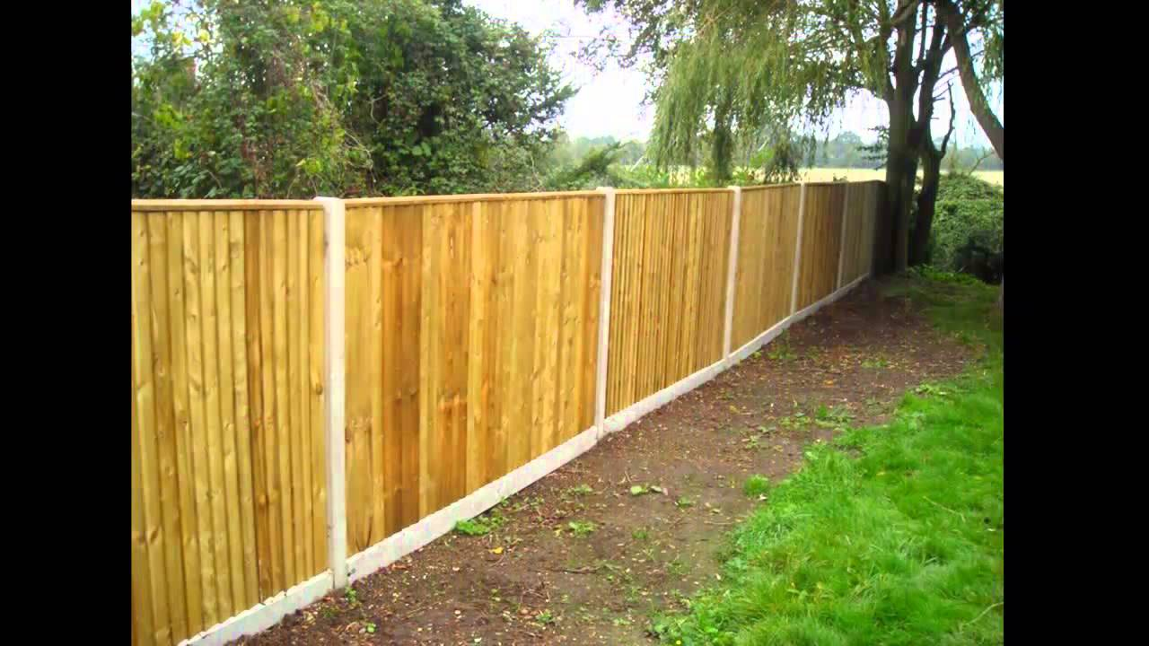 Quality Cheap Garden Fencing Sheffield | WE BEAT ANY QUOTE   YouTube