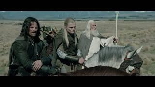 Братство Кольца направляется в Эдорас. HD