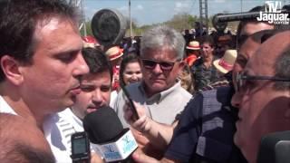 Governador Camilo inaugura Avenida de contorno e se compromete em fazer estrada do Bixopá
