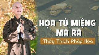 Họa từ miệng mà ra LỜI NÓI KHÔNG KHÉO tổn giảm phúc đức – Thầy Thích Pháp Hòa