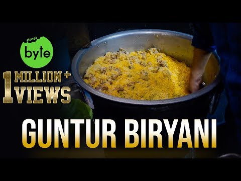 Muslim Mutton Biryani For 80 People | Street Byte | Indian Street Food | Best Biryani