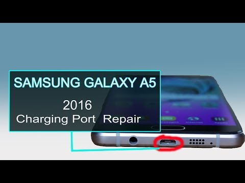 SAMSUNG GALAXY A5 2016 Charging Port Flex Repair