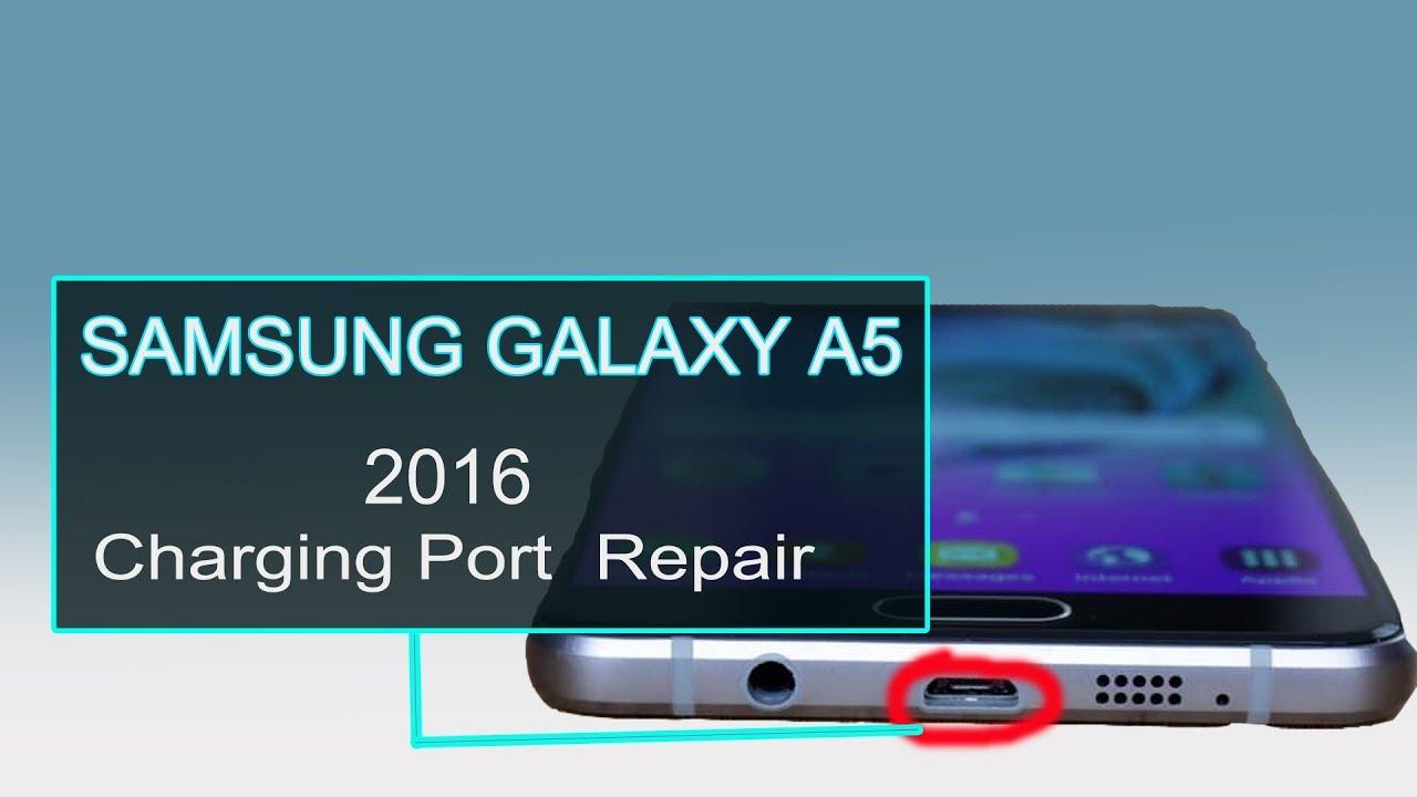 SAMSUNG GALAXY A5 2016 Charging Port Flex Repair