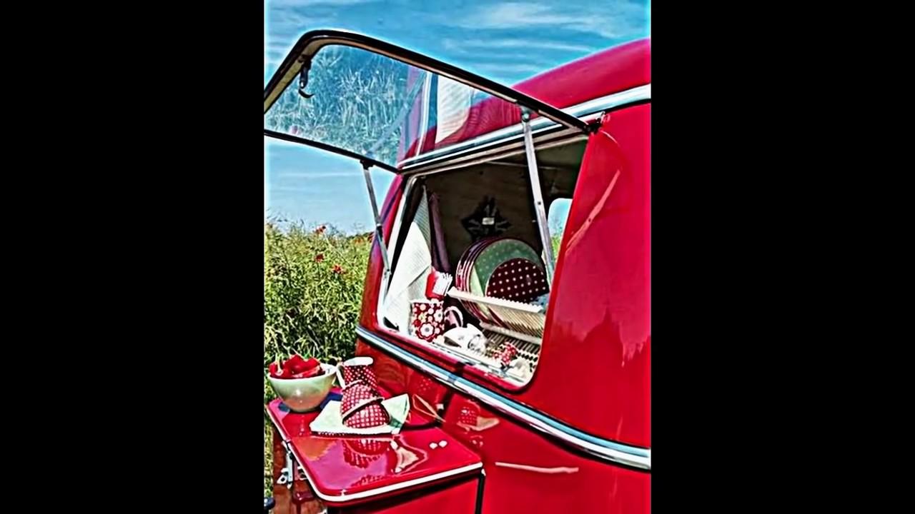 Wohnwagen Dekoration -- die Karawane mit Hauch vom Retro einrichten ...