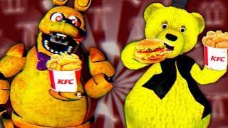 FNAF СПРИНГ БОННИ обожрался в KFC и стал ЖИРНЫМ