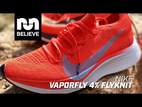 de2bcd1b29d Nike Vaporfly 4% Flyknit – First Impression - YouTube