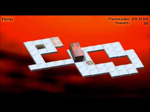 R3 2 Sign >> Bloxorz Level 11 - YouTube