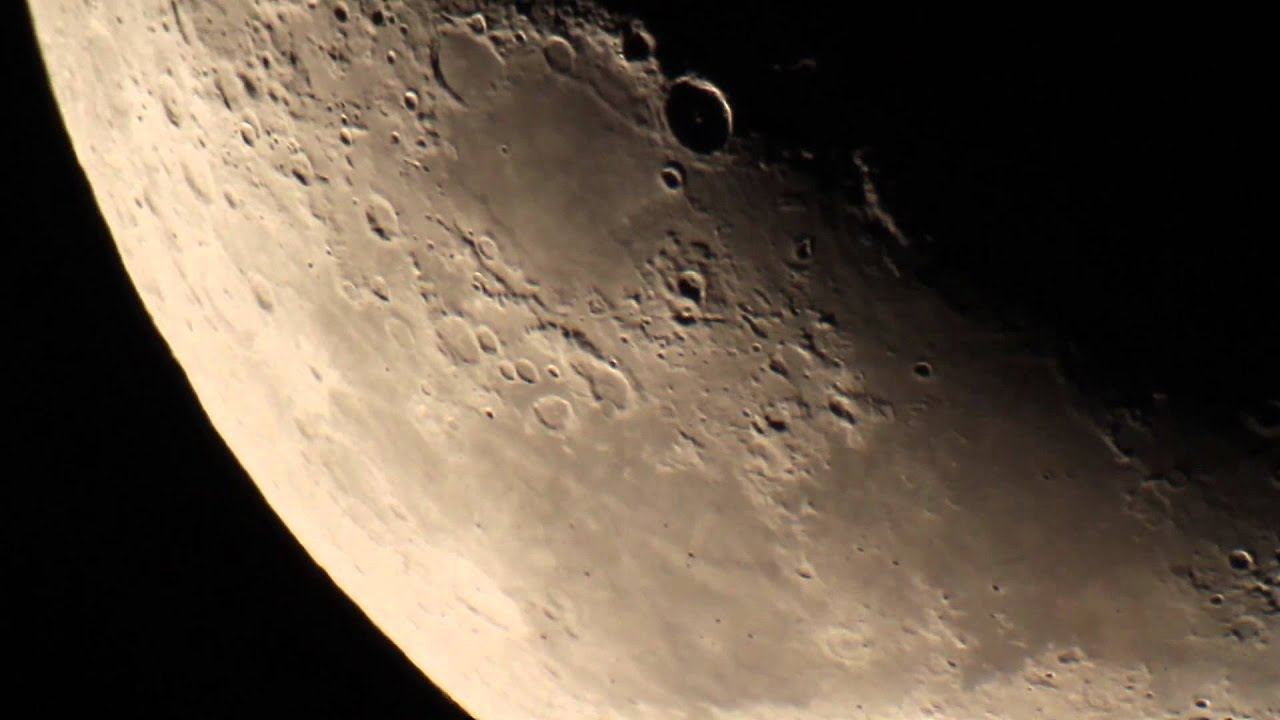 The Moon Shot With A Canon 7d And A 10 Inch Sky Watcher