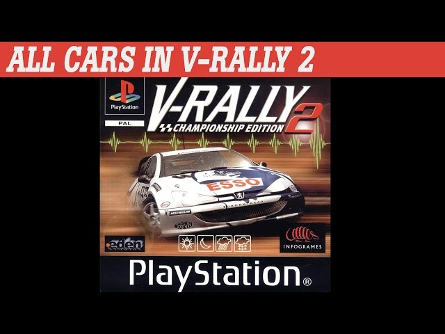 V-Rally 2 | All Cars