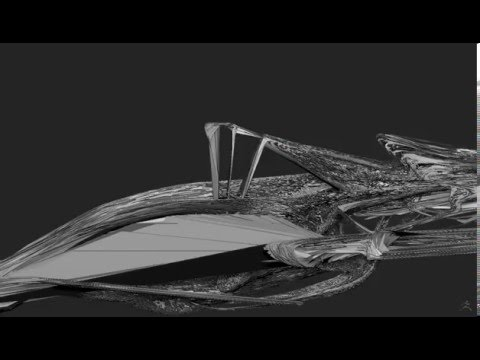 Alien Ship - How to exploit a ZBrush mistake - part 1